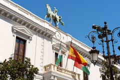 Ayuntamiento de Granada (Town Hall), Spain Royalty Free Stock Photos