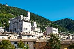 Ayuntamiento de Gubbio - Perugia Imagenes de archivo