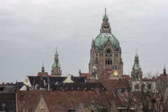 Ayuntamiento de Hannover foto de archivo