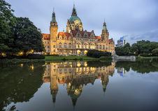 Ayuntamiento de Hannover foto de archivo libre de regalías