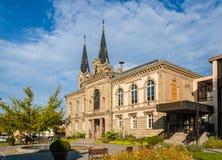 Ayuntamiento de Illkirch-Graffenstaden - Alsacia, Francia foto de archivo