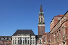 Ayuntamiento de Kiel fotos de archivo libres de regalías