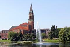 Ayuntamiento de Kiel imagen de archivo
