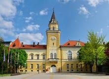 Ayuntamiento de Kikinda Foto de archivo libre de regalías