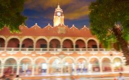 Ayuntamiento de la ciudad de Mérida de Yucatán México fotografía de archivo