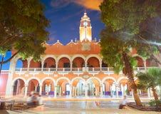 Ayuntamiento de la ciudad de Mérida de Yucatán México imágenes de archivo libres de regalías