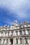 Ayuntamiento de Lyon (Hotel de Ville) Francia Foto de archivo libre de regalías