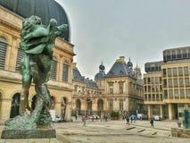 Ayuntamiento de Lyon y teatro de la ópera de Lyon, Lyon, Francia Foto de archivo libre de regalías
