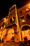 Ayuntamiento de Módena, Italia fotografía de archivo