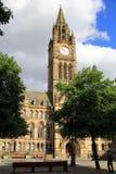 Ayuntamiento de Manchester foto de archivo libre de regalías
