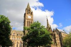 Ayuntamiento de Manchester Fotos de archivo libres de regalías