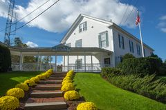 Ayuntamiento de Merrimack en Merrimack New Hampshire, los E.E.U.U. imágenes de archivo libres de regalías