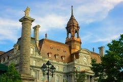 Ayuntamiento de Montreal Imagen de archivo libre de regalías
