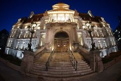 Ayuntamiento de Montreal imagen de archivo