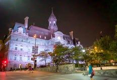 Ayuntamiento de Montreal Imágenes de archivo libres de regalías