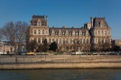 Ayuntamiento de París Imagenes de archivo