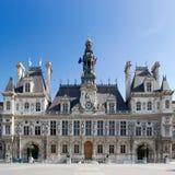 Ayuntamiento de París - Francia Imagenes de archivo
