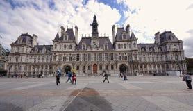 Ayuntamiento de París u Hotel de Ville en 2011 francia Imagenes de archivo