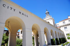 Ayuntamiento de Pasadena Foto de archivo libre de regalías