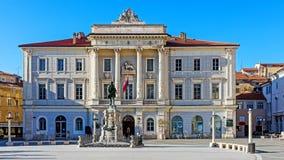 Ayuntamiento de Piran Fotos de archivo libres de regalías