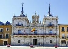 Ayuntamiento de Ponferrada España Fotografía de archivo libre de regalías