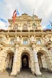 Ayuntamiento de Rathaus Graz Imágenes de archivo libres de regalías