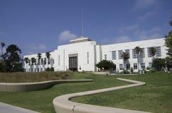 Ayuntamiento de Santa Monica California Imágenes de archivo libres de regalías