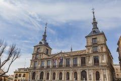 Ayuntamiento De Toledo stockfotos
