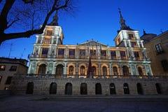 Ayuntamiento de Toledo royalty free stock photos
