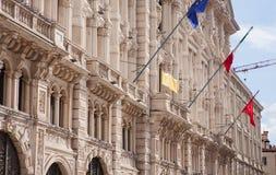 Ayuntamiento de Trieste Imagenes de archivo