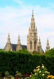 Ayuntamiento de Viena Fotografía de archivo libre de regalías