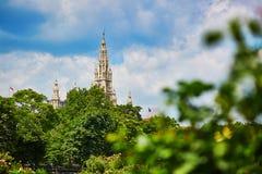 Ayuntamiento de Viena Fotos de archivo libres de regalías