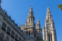 Ayuntamiento de Viena Foto de archivo libre de regalías