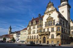 Ayuntamiento de Werdau, Alemania Fotografía de archivo libre de regalías