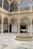 Ayuntamiento del patio Úbeda Jaén, España Fotografía de archivo libre de regalías