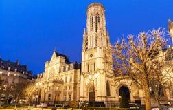 Ayuntamiento del 1r arrondissement de París Imágenes de archivo libres de regalías