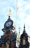 Ayuntamiento del renacimiento de Malmö en Suecia Imagenes de archivo
