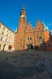 Ayuntamiento el Wroclaw Fotografía de archivo libre de regalías