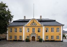 Ayuntamiento en Aalborg, Dinamarca imágenes de archivo libres de regalías