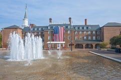 Ayuntamiento en Alexandría, Virginia Foto de archivo libre de regalías