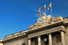 Ayuntamiento en Barcelona Foto de archivo