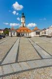 Ayuntamiento en Bialystok Fotos de archivo libres de regalías