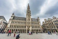 Ayuntamiento en Bruselas, Bélgica Foto de archivo