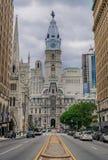 Ayuntamiento en el distrito histórico de Philadelphia fotografía de archivo
