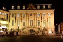 Ayuntamiento en el mercado en Bonn (Alemania) en Foto de archivo libre de regalías