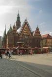Ayuntamiento en el Wroclaw Fotos de archivo