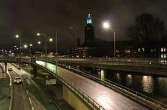 Ayuntamiento en Estocolmo Foto de archivo libre de regalías