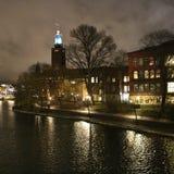 Ayuntamiento en Estocolmo Fotos de archivo libres de regalías