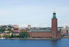 Ayuntamiento en Estocolmo imagen de archivo libre de regalías