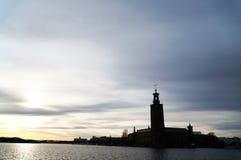 Ayuntamiento en Estocolmo imagenes de archivo